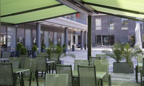 Stores terrasse